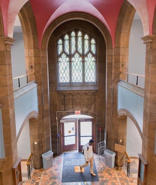 Ferris Hall Atrium